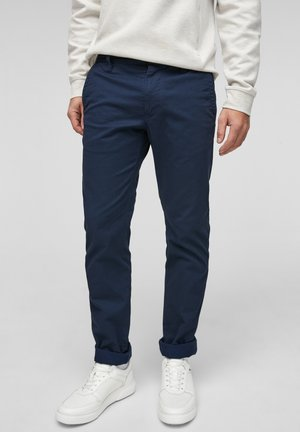 SLIM FIT - Trousers - blue aop