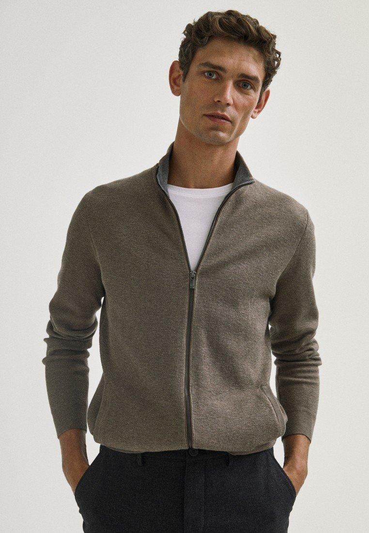 Massimo Dutti - Cardigan - light grey