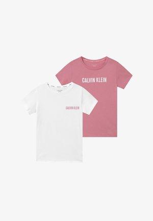 TEES 2 PACK - Tílko - pink