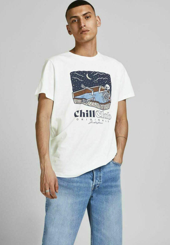 Herren STATEMENT TOTENKOPF - T-Shirt print