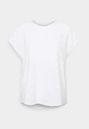 ONLSMILLA - Print T-shirt - cloud dancer