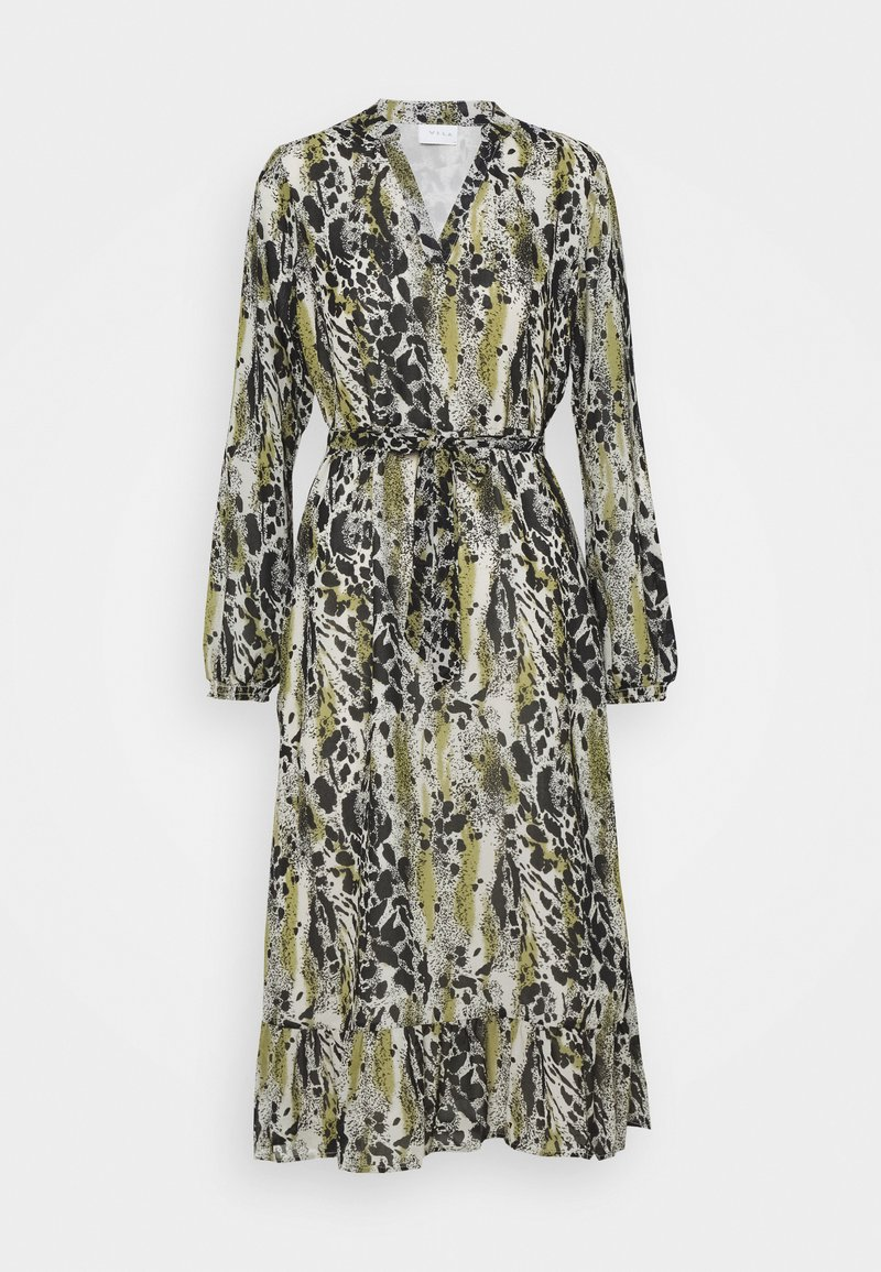 VILA PETITE - VIJEMO MIDI DRESS - Maxi dress - birch