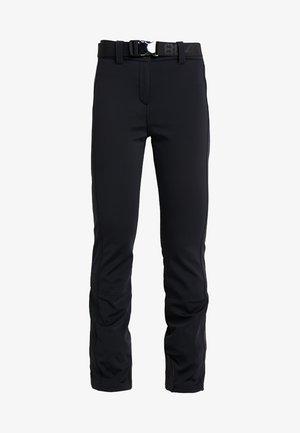 SLIM PANT - Spodnie narciarskie - black