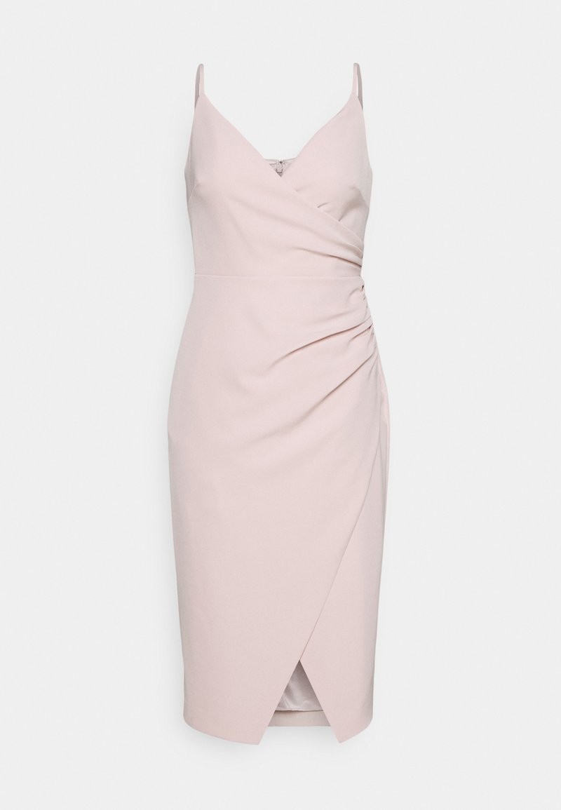 Forever New - ALEXA RUCHED WRAP PENCIL DRESS - Cocktail dress / Party dress - blush
