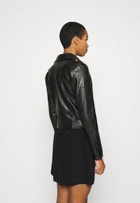 Calvin Klein Jeans - JACKET - Bunda zumělé kůže - black - 3