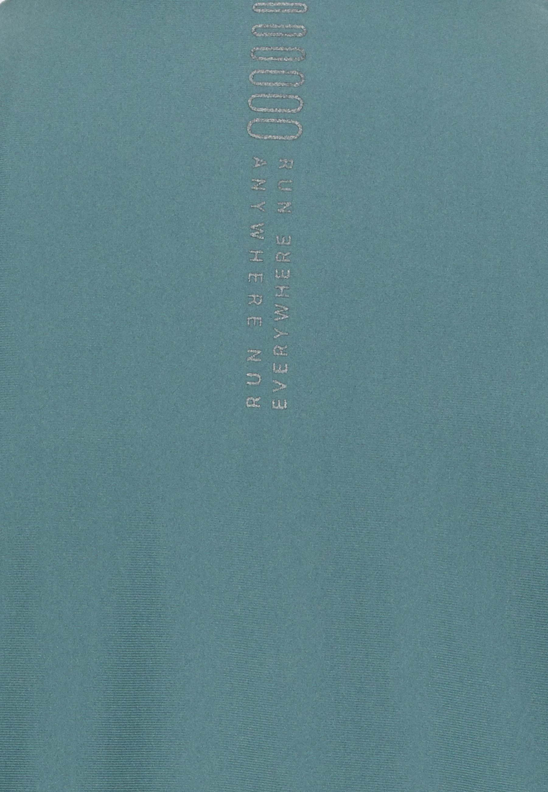 Under Armour RUN ANYWHERE CROPPED - Sports shirt - lichen blue dSx7c