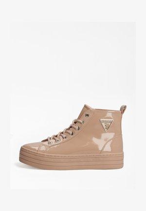 Sneakers hoog - hellrose