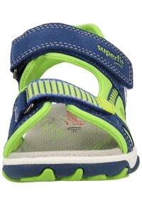 Superfit - Walking sandals - blue/green - 5