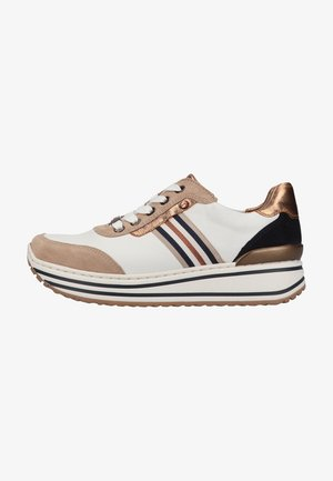 Trainers - sand/weiss,whisky/blau 76