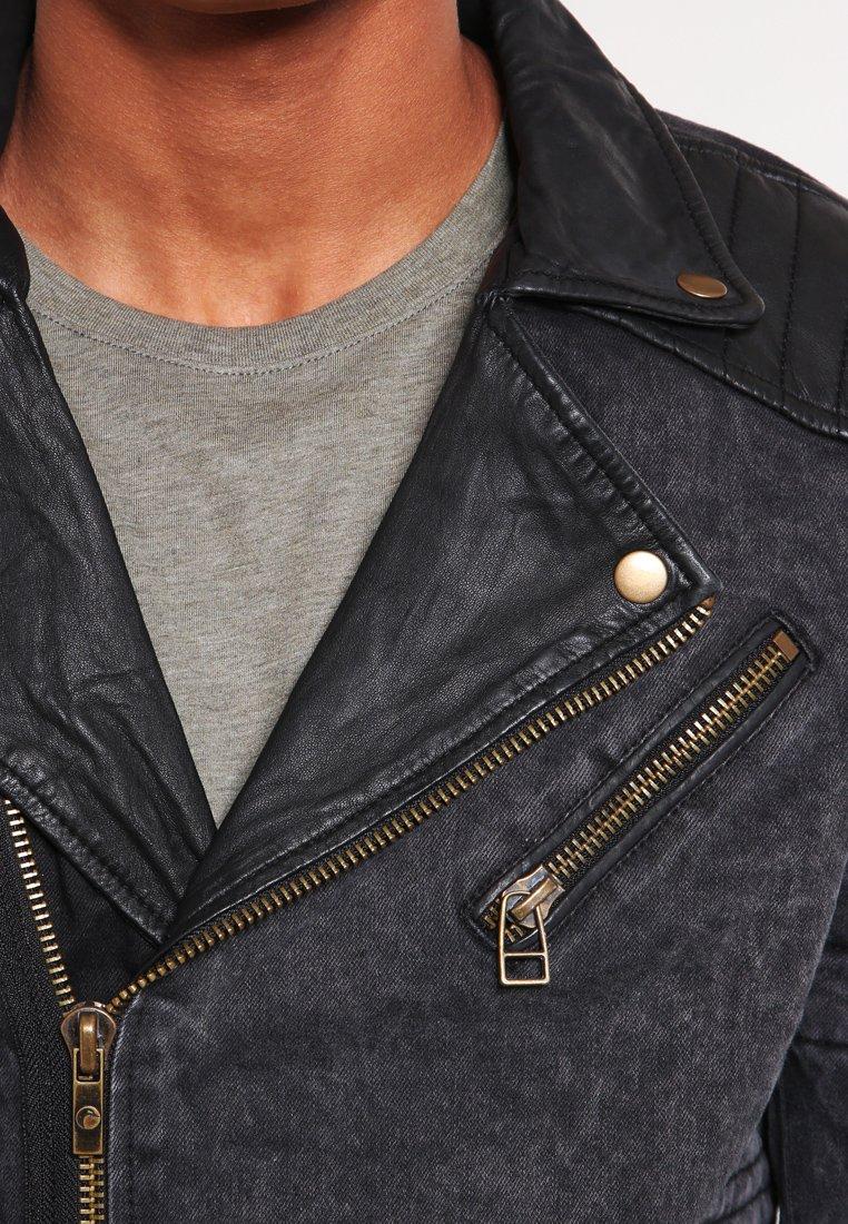 Goosecraft Biker970 leren jas | wehkamp