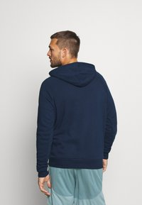 Under Armour - RIVAL  - Hoodie - academy/onyx white - 2