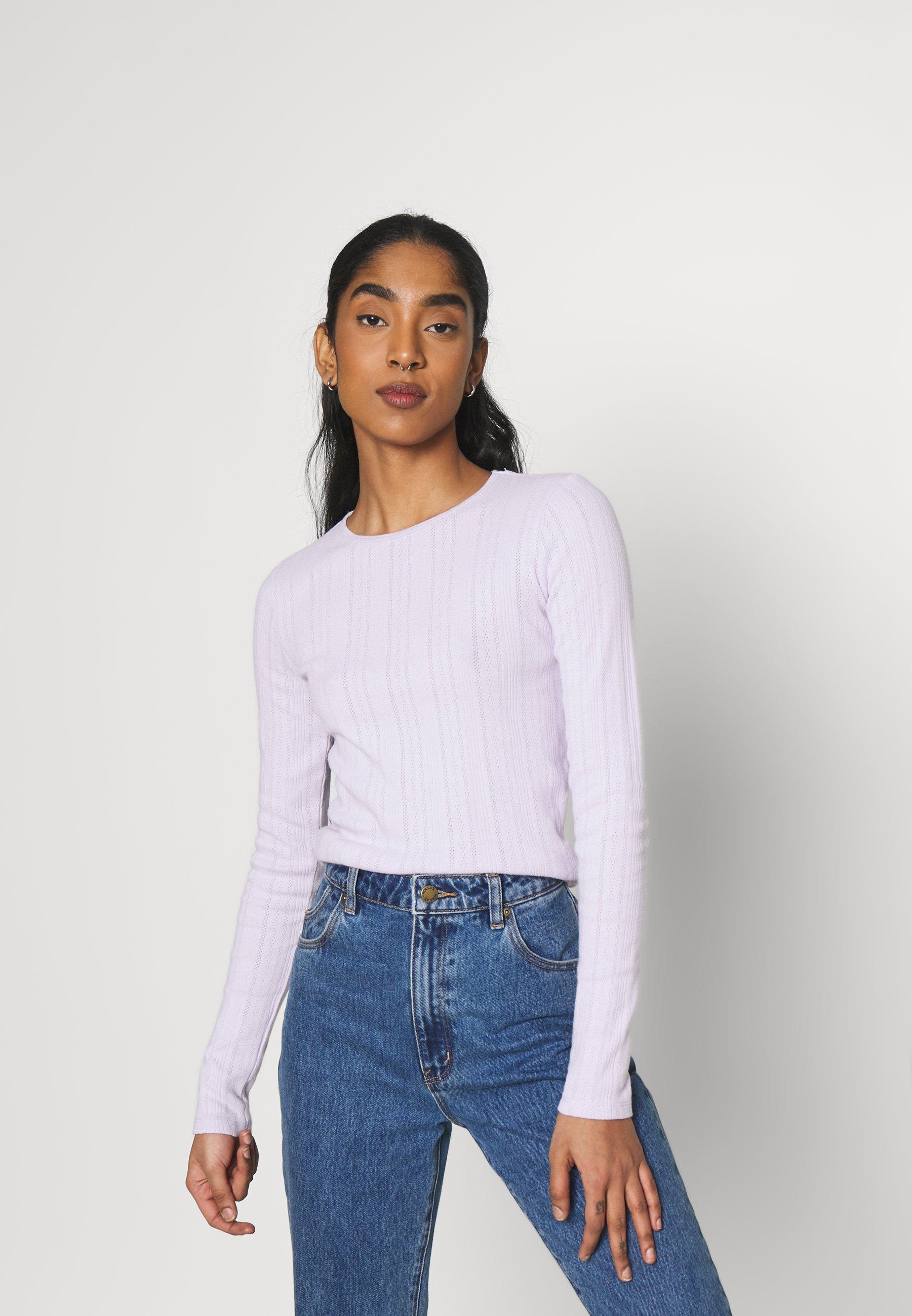 Women POINTELLE BUTT THRUSET - Long sleeved top