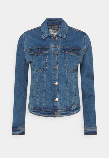 BYPULLY JACKET - Jeansjakke - mid blue denim