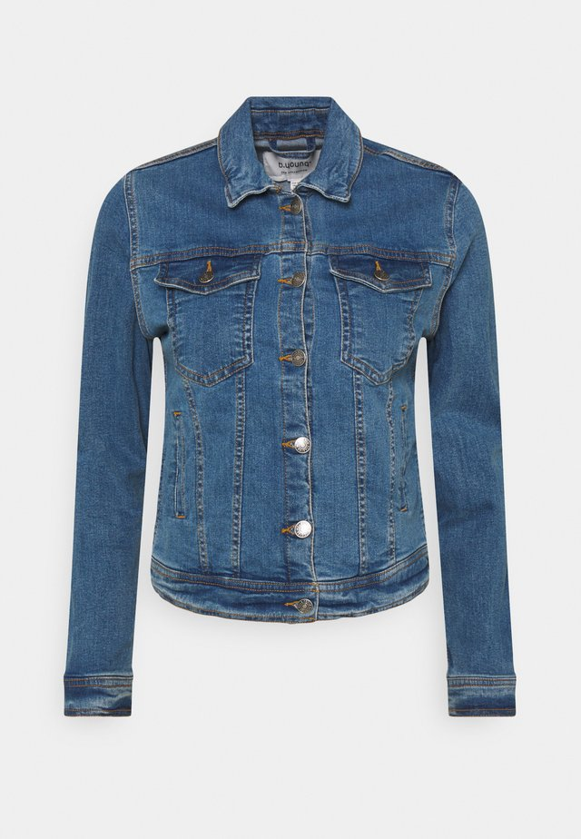 BYPULLY JACKET - Džínová bunda - mid blue denim