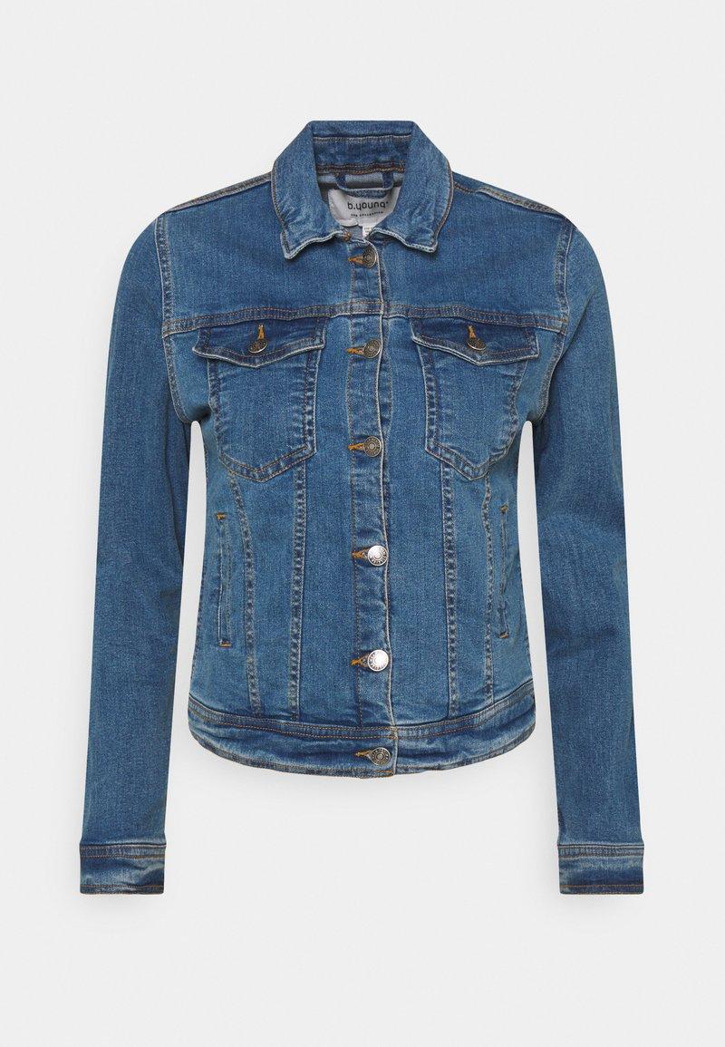 b.young - BYPULLY JACKET - Denim jacket - mid blue denim