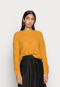 ONLY - ONLHAVANA - Maglione - golden yellow - 0