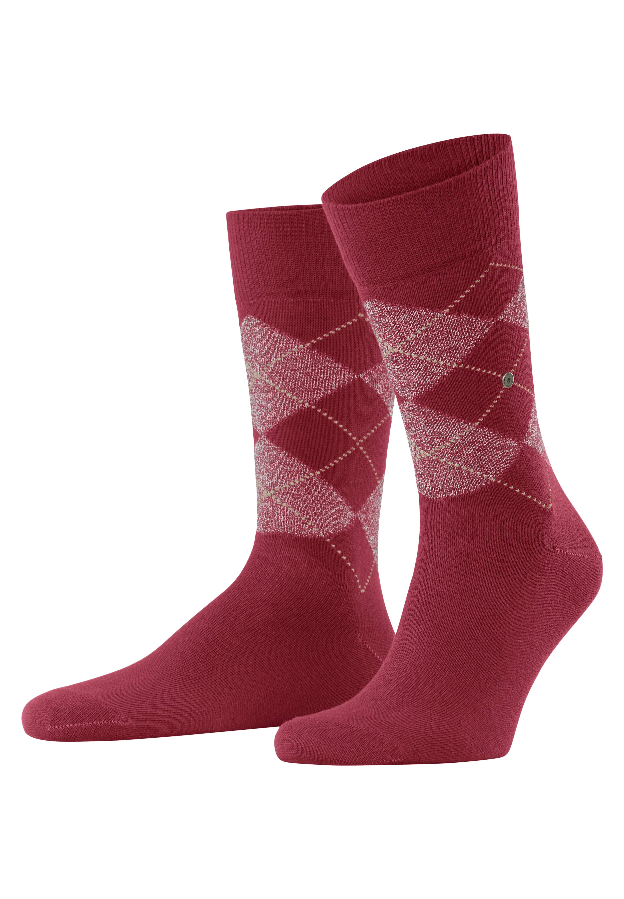 Homme BIRMINGHAM - Chaussettes - cherry red