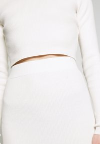 Glamorous - MID SKIRT - Pencil skirt - off white - 4