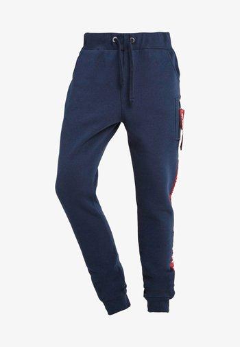 JOGGER TAPE - Pantaloni sportivi - new navy