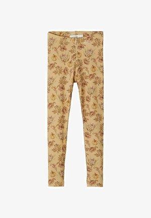 SLIM FIT - Leggings - Trousers - light brown