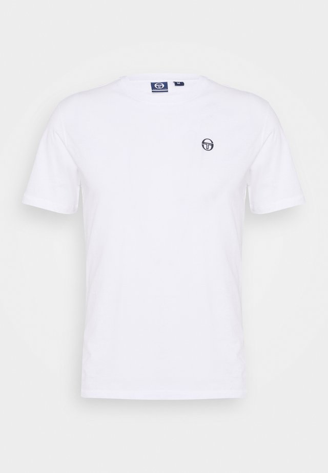 RUN - Camiseta básica - white/navy
