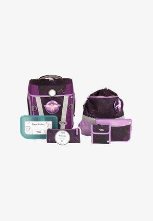 SET - Schooltas set - purple