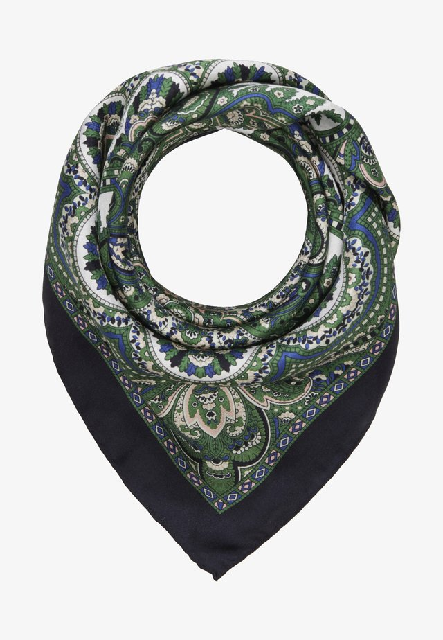 Scarf - multi/green