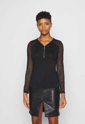 TAMILA - Long sleeved top - noir