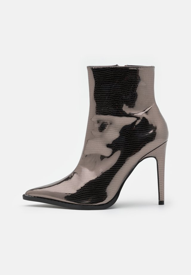 HONEY POINT ZIP BOOT - Classic ankle boots - pewter