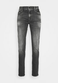 7 for all mankind - RONNIE STRETCH TEK MASSIVE - Džíny Slim Fit - dark grey - 4