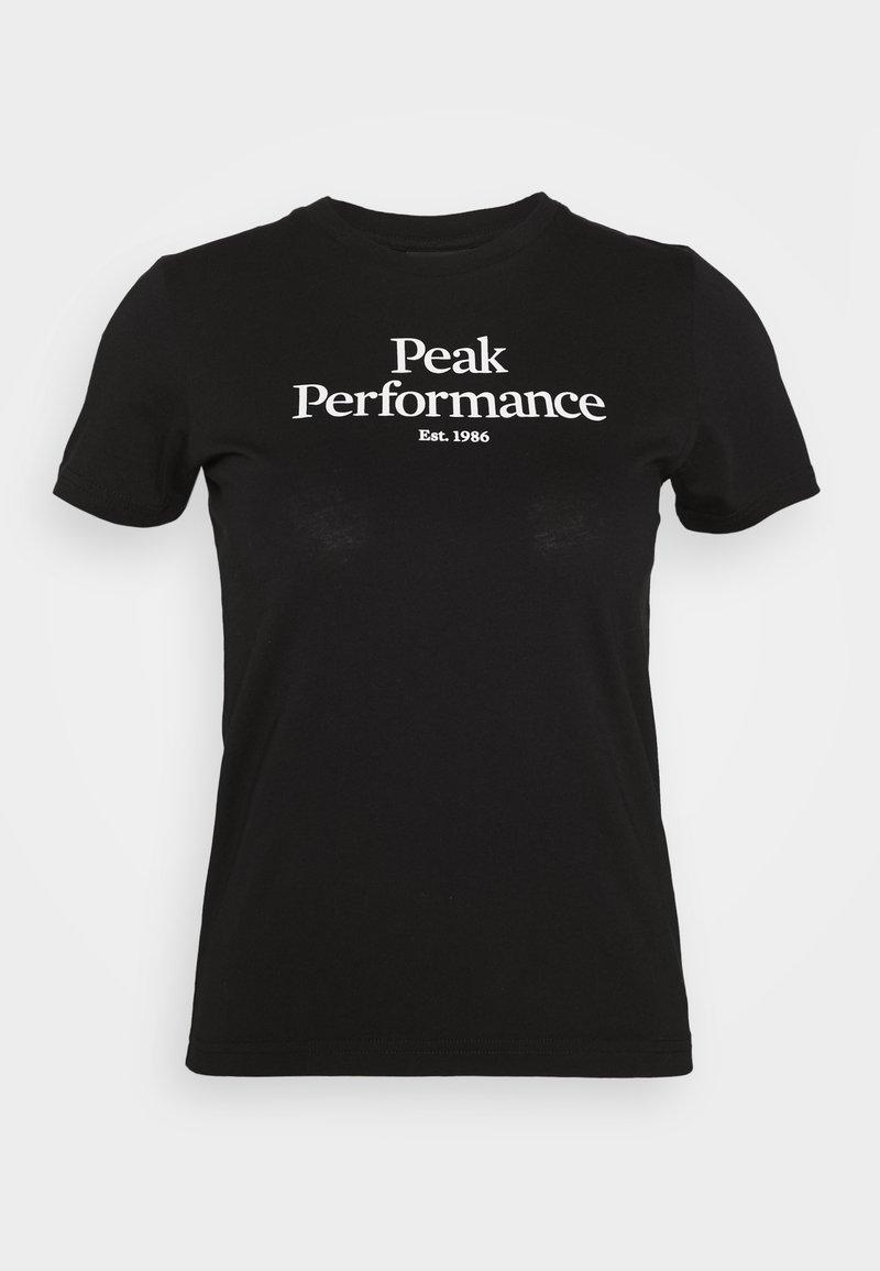 Peak Performance - T-shirts print - black
