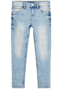 Next - DENIM GREY SKINNY FIT FIVE POCKET JEANS (3-16YRS) - Jeans Skinny Fit - blue - 0