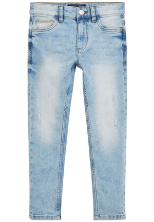 DENIM GREY SKINNY FIT FIVE POCKET JEANS (3-16YRS) - Jeans Skinny Fit - blue