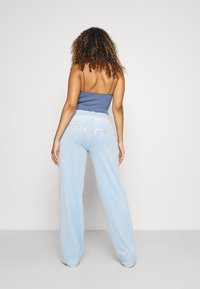 Juicy Couture - NUMERAL TRACK PANTS - Joggebukse - powder blue - 3