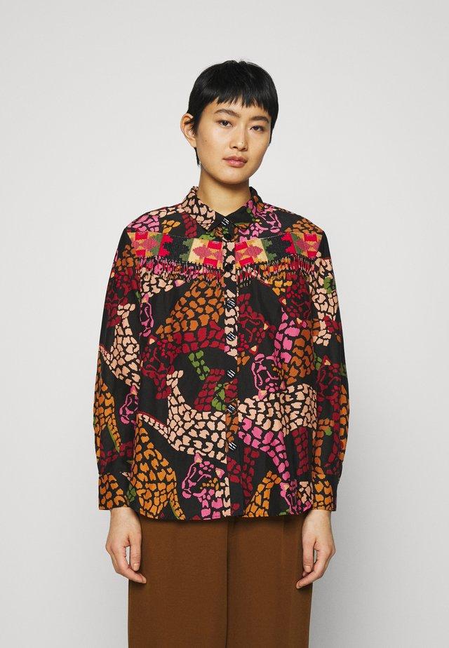 BLACK LEOPARD SHIRT - Camicia - multi