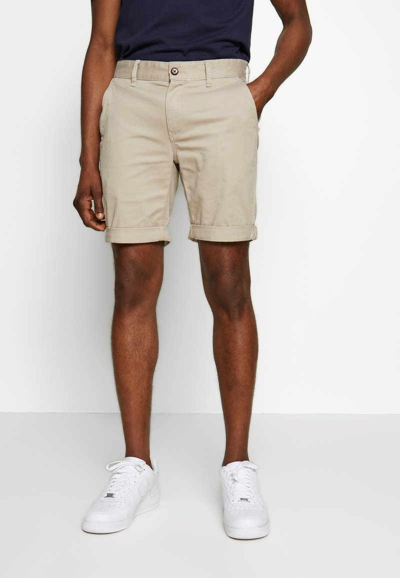 Tommy Jeans - ESSENTIAL - Shorts - stone
