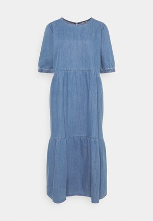 NMSESSI DRESS - Denim dress - medium blue denim
