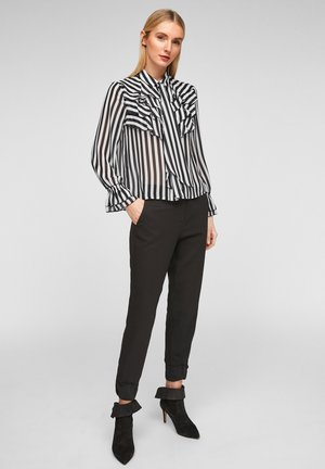 Blouse - black stripes