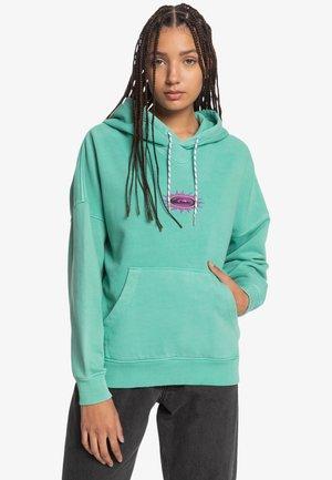 Hoodie - marine green
