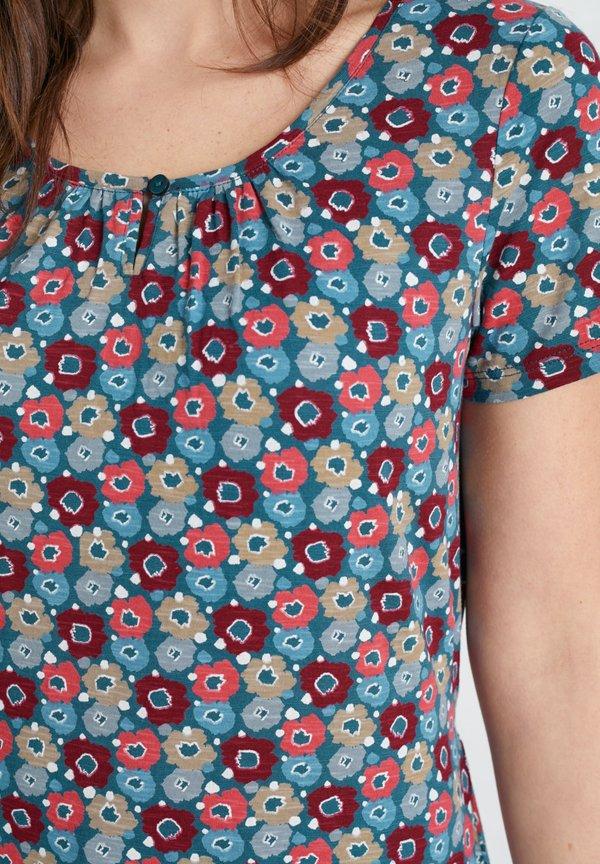 SEASALT COUNTRYSIDE - T-shirt z nadrukiem - pink Odzież Damska YFSQ KF 2