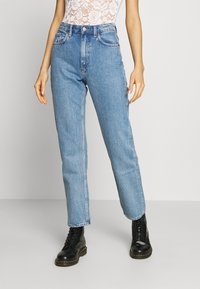 Weekday - VOYAGE LOVED - Straight leg jeans - pen blue - 0