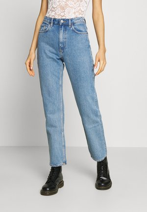 VOYAGE LOVED - Jeans straight leg - pen blue