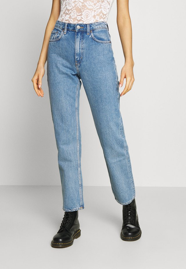VOYAGE MORNING - Straight leg jeans - pen blue