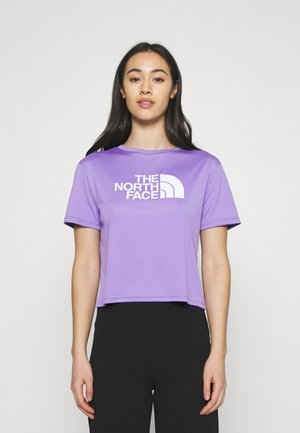 TEE - T-shirts med print - pop purple