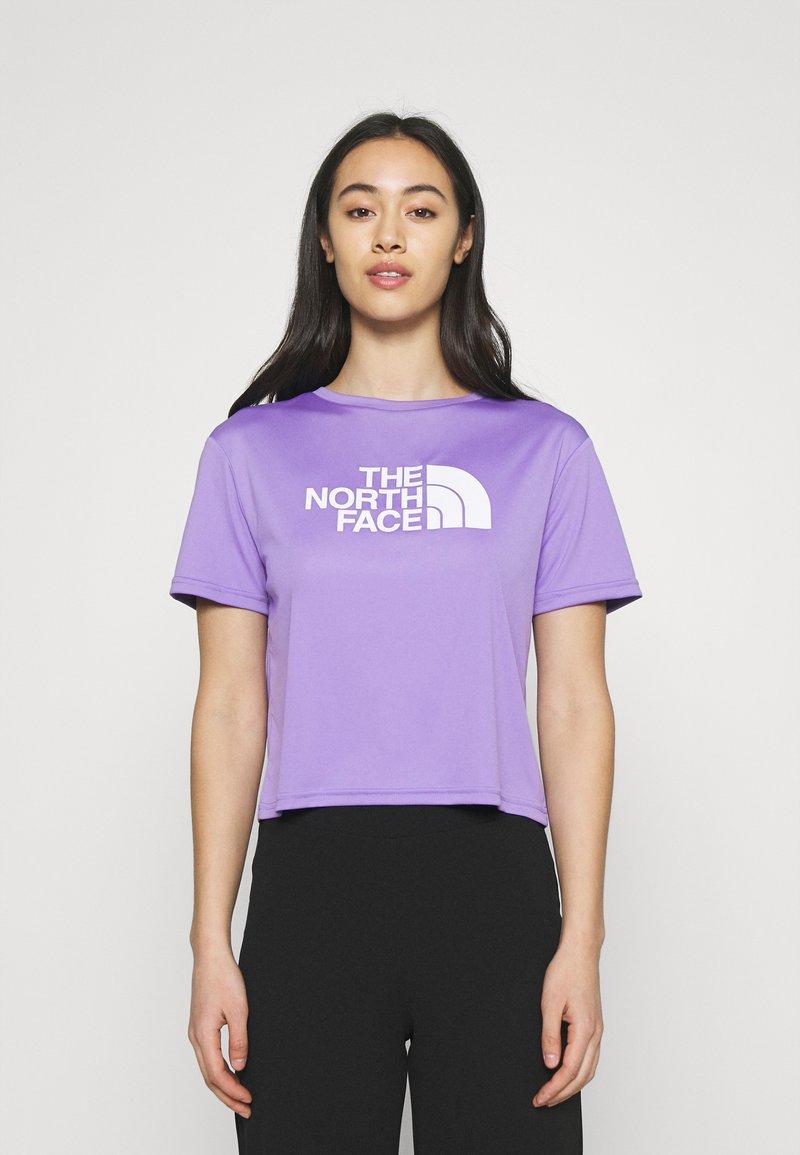 The North Face - TEE - Print T-shirt - pop purple