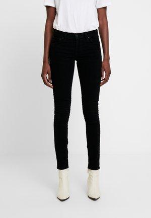 SKINNY LIN - Kalhoty - black