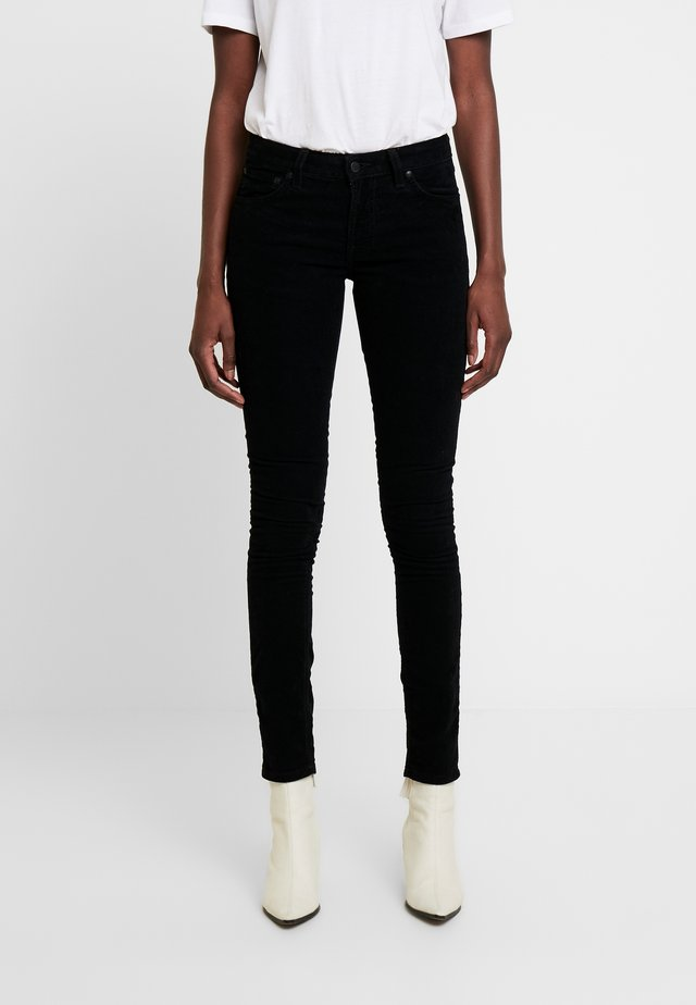 SKINNY LIN - Trousers - black