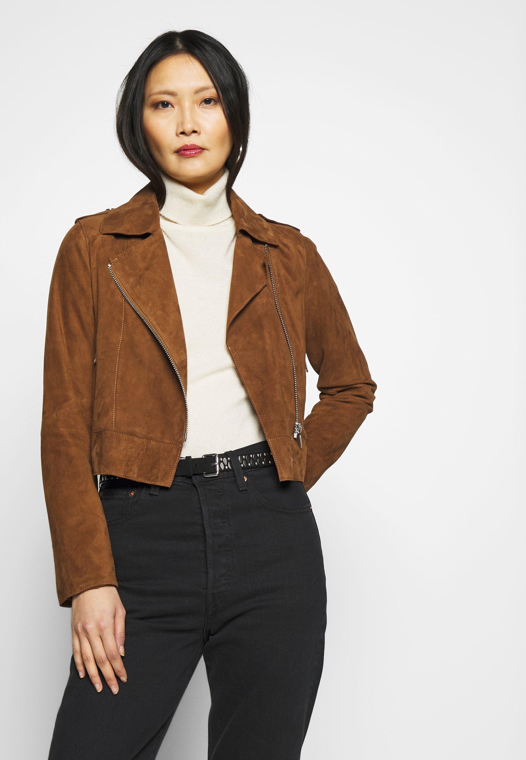 Women ZULINA - Leather jacket
