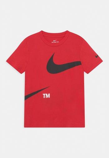 SPLIT - Print T-shirt - university red