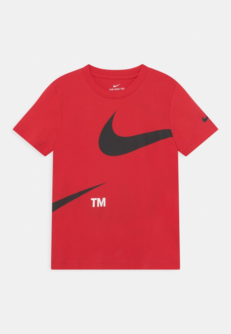 Nike Sportswear - SPLIT - Print T-shirt - university red